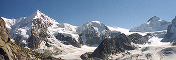 A panoramic view on several 4000m